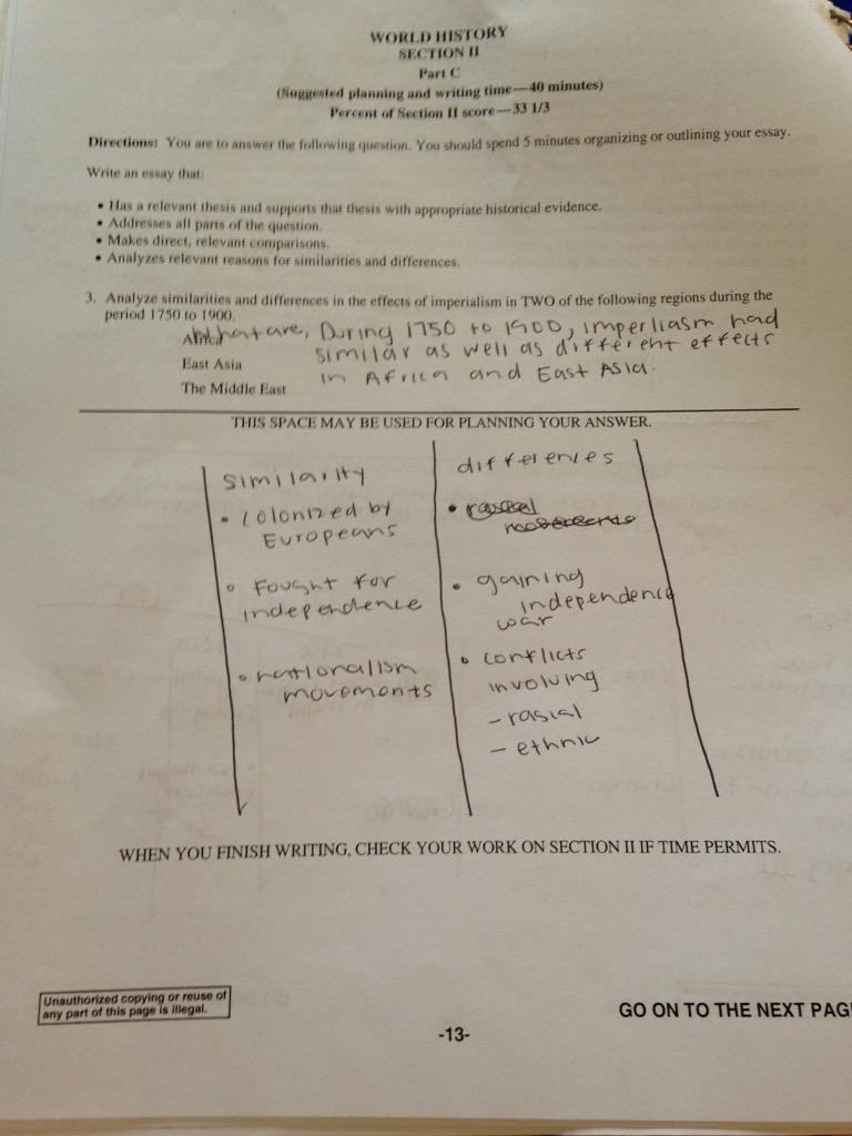 Easy cause and effect essay hisotry 1750-1900